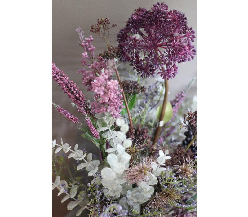 Namaak Allium dark purple 68 cm