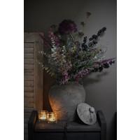 Zijden Limonium tak purple 90 cm