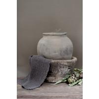 Sober keukendoekje grijs wafel 45 cm