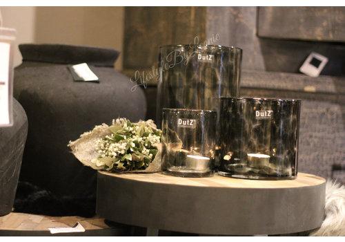 Dutz DUTZ cilinder windlicht Black panter 14 cm