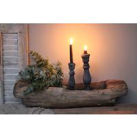 Authentieke oude houten trog Medium