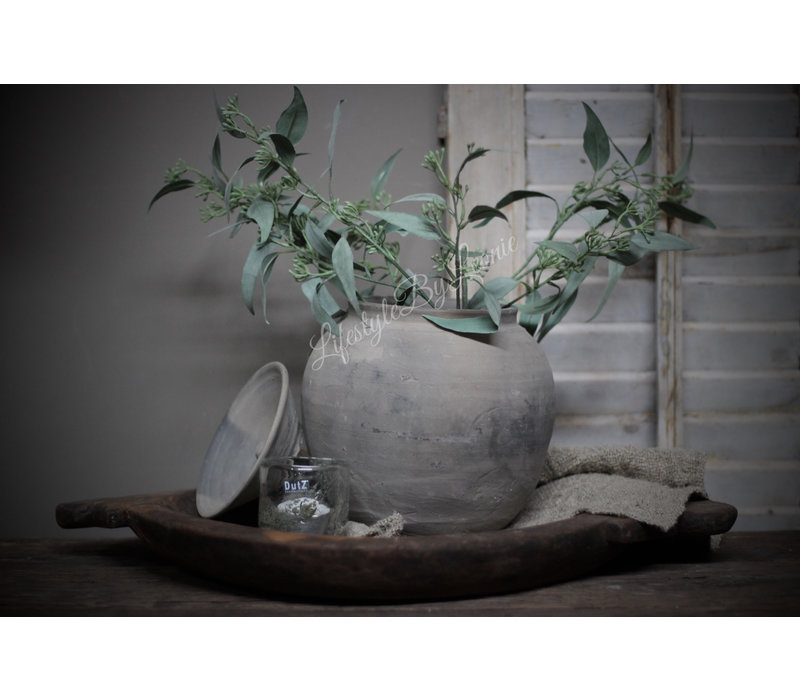 Zijden Eucalyptus populus bes tak 61 cm
