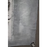 Kalkdoek wol vlecht grey wash 100 cm