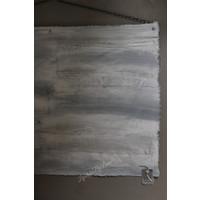 Kalkdoek linnen stukken horizontaal 100 cm