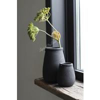 Ronde smalle hoge pot Black 24 cm