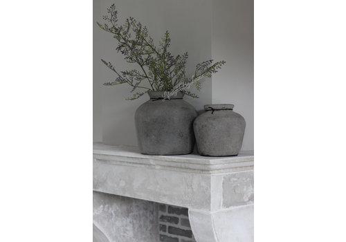 Stenen kruik Bas Old grey 21cm