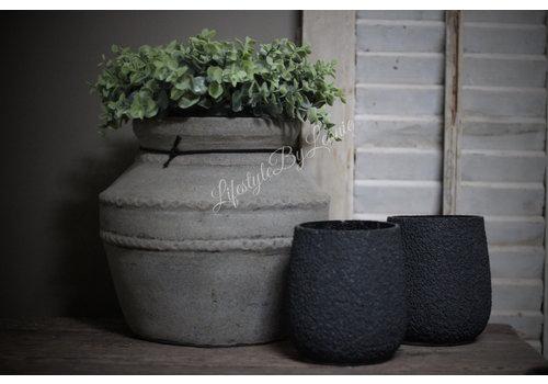 Namaak baby Eucalyptus krans 26 cm