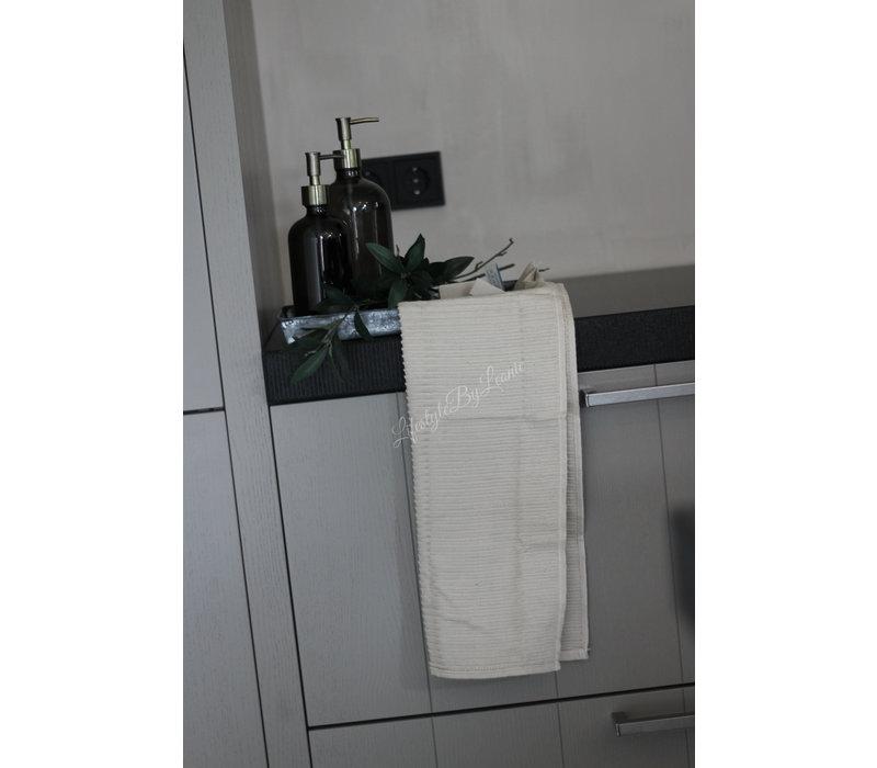 Mijn Stijl handdoek flax 40 x 60 cm