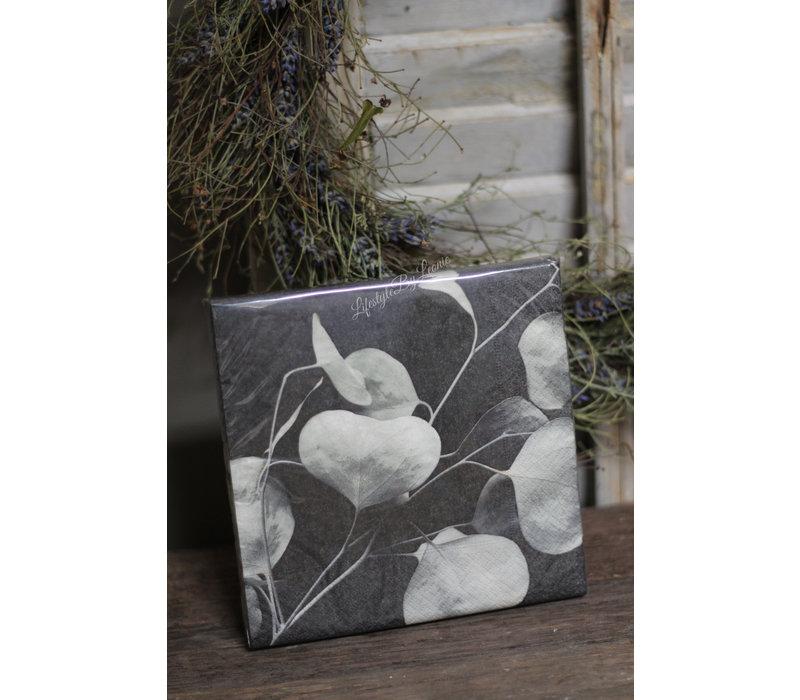 Mijn Stijl pakje servetten Eucalyptus blad