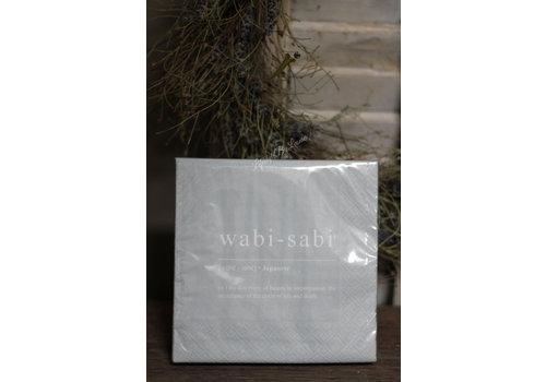 Mijn Stijl Mijn Stijl pakje servetten Wabi-Sabi