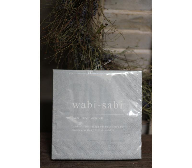 Mijn Stijl pakje servetten Wabi-Sabi