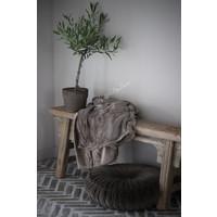 Dik fleece plaid Driftwood 220cm