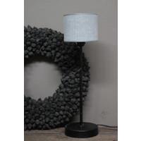 Cilinder lampenkap  Kiss grey 15 cm