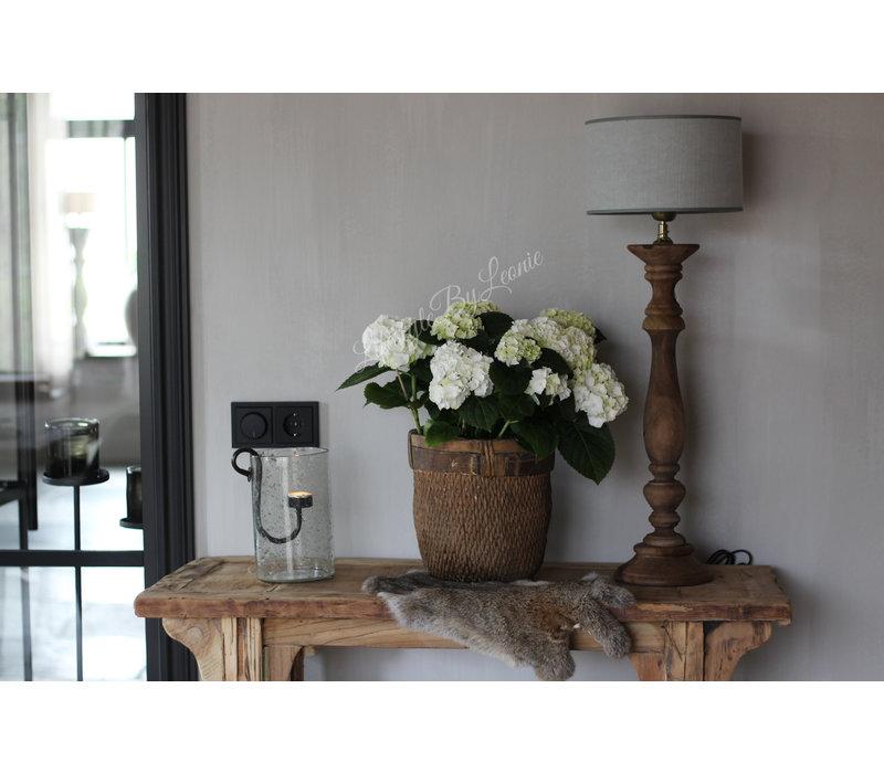 Baluster lampvoet Belli naturel 63 cm