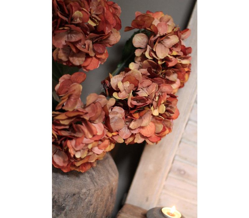 Zijden Hortensia Autumn 61 cm