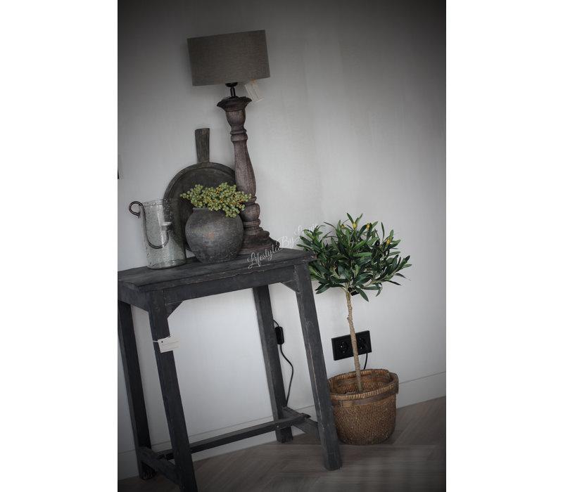 Namaak olijfboom op stam in pot 75 cm