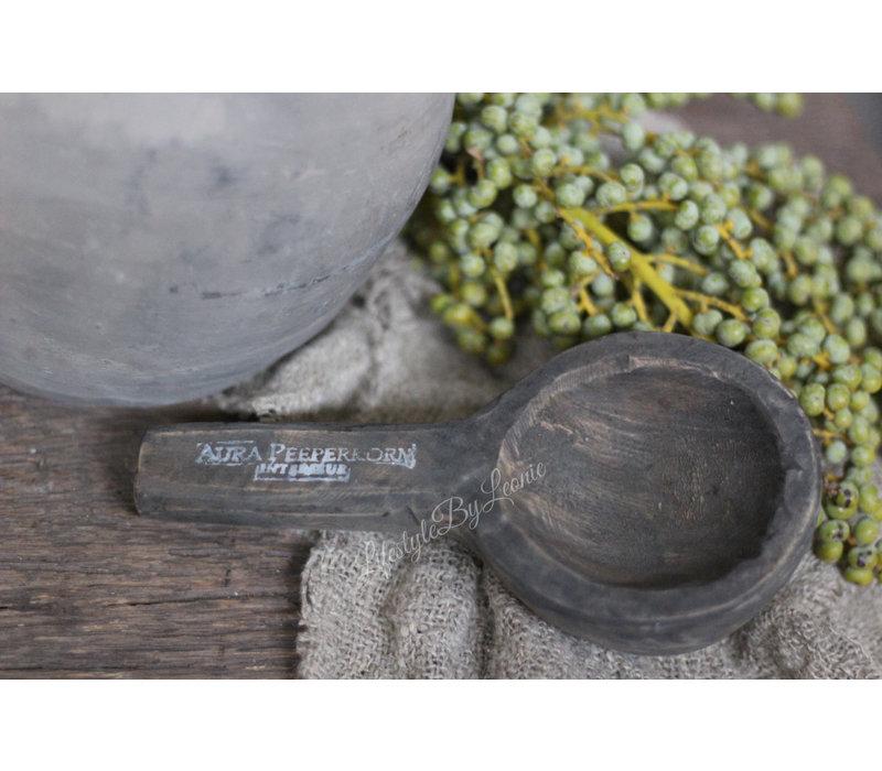 Aura Peeperkorn liggende waxinelepel 20 cm