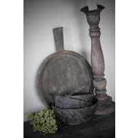 Aura Peeperkorn houten schaaltje met oren Black