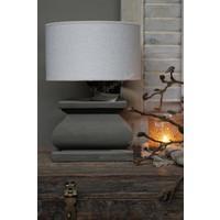 Aura Peeperkorn houten lampvoet Piombo