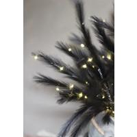 Tak namaak gras zwart met LED 72cm