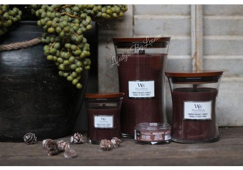 WoodWick WoodWick Smoked walnut maple petite candle