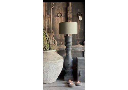 Aura Peeperkorn cilinder lampenkap Sage green 25 cm