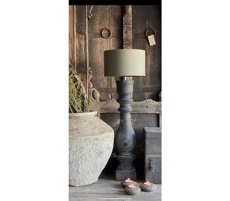 Aura Peeperkorn cilinder lampenkap Sage green 30 cm