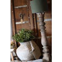 Aura Peeperkorn baluster lampvoet naturel wood