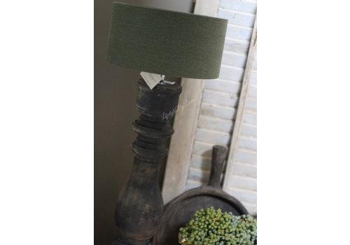 Aura Peeperkorn Aura Peeperkorn cilinder lampenkap Moss green 30 cm