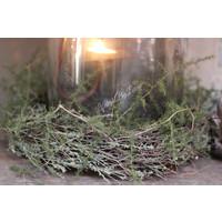 Windlicht cover tijm/wilde asparagus