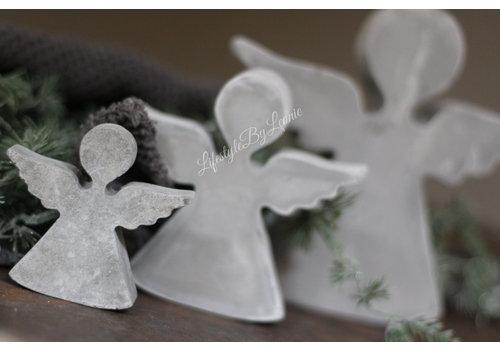 Cementen engel hanger 11 cm