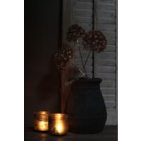 Bereklauw met LED lampjes Gold glitter