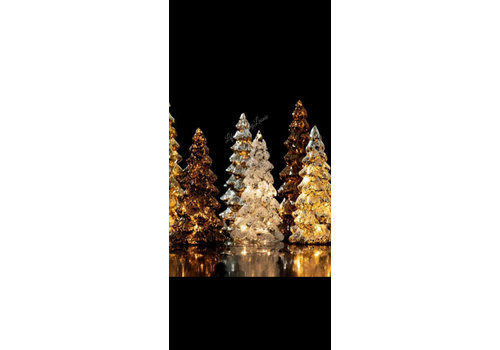 LED kerstboom brons 30 cm