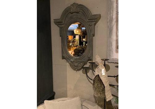 Ossenoog spiegel Old black