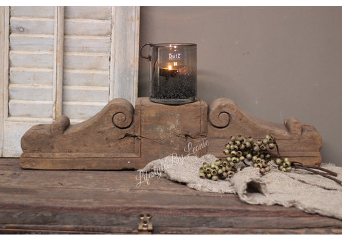 Oud houten bouw frame / ornament XL