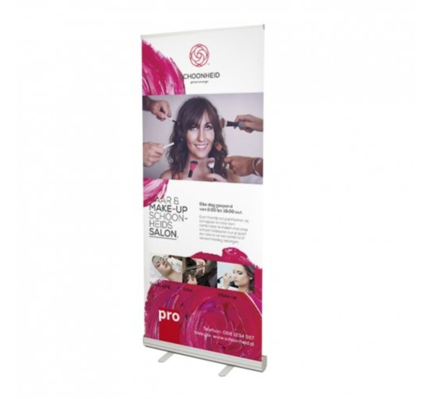 Budget roll-up banner 100 X 200 cm
