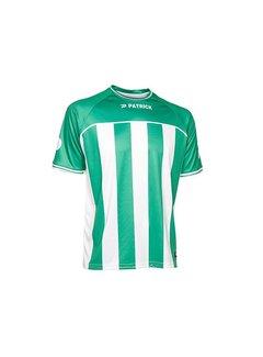 Patrick Coruna shirt groen/wit