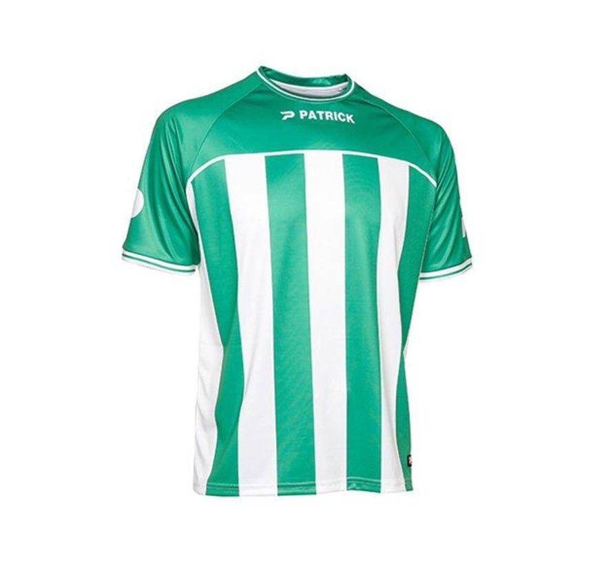 Coruna105 shirt groen/wit