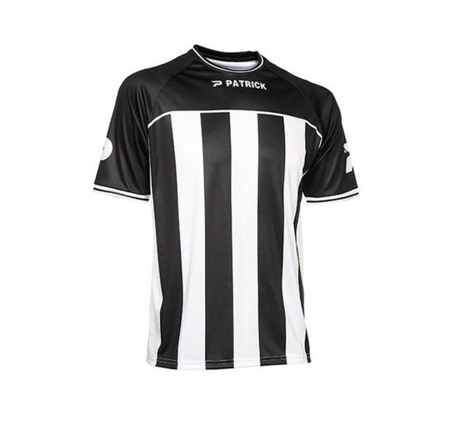 Coruna shirt zwart/wit