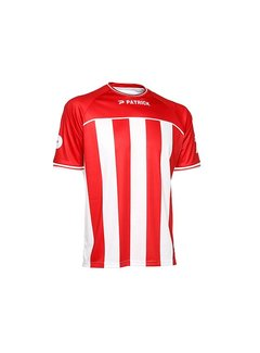 Patrick Coruna shirt rood/wit