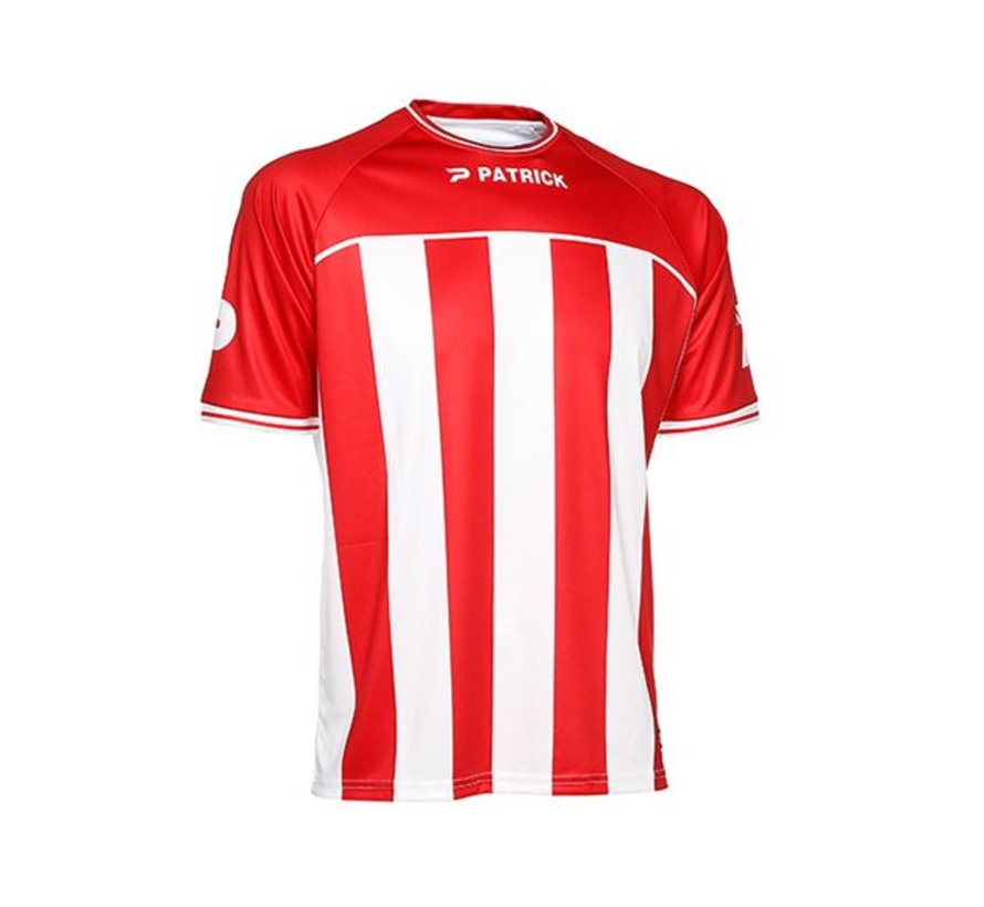 Coruna shirt rood/wit