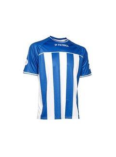 Patrick Coruna shirt blauw/wit