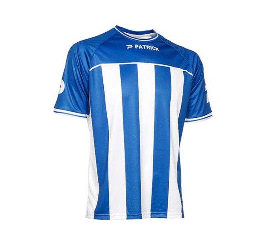 Coruna shirt blauw/wit