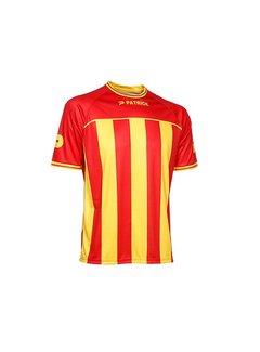 Patrick Coruna shirt rood/geel
