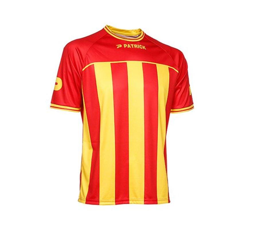 Coruna shirt rood/geel