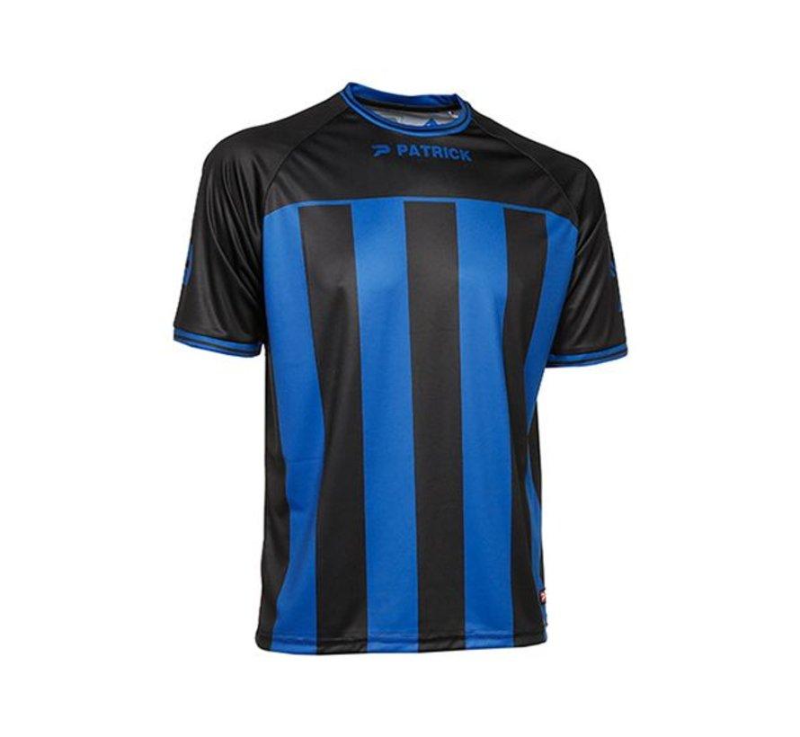 Coruna shirt blauw/zwart