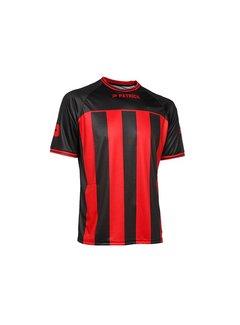 Patrick Coruna shirt rood/zwart