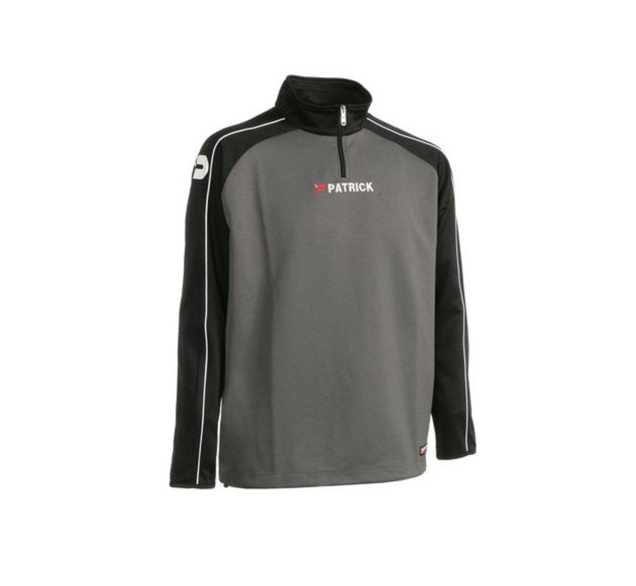 Granada101 top training sweater Zwart/grijs