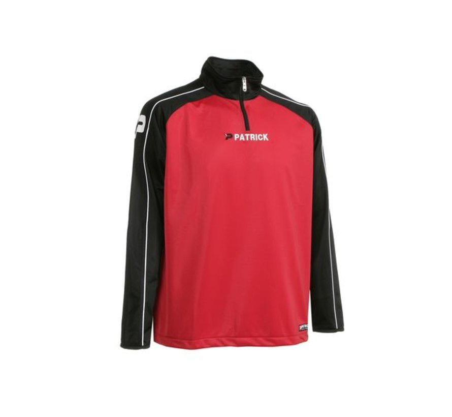 Granada101 top training sweater Rood/zwart