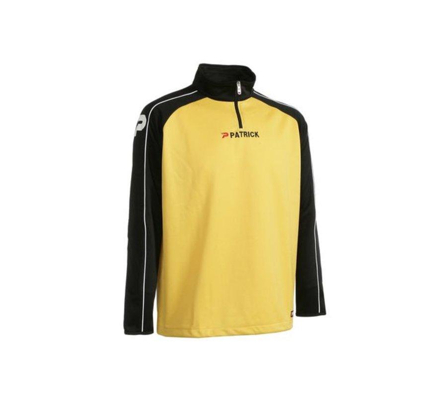 Granada101 top training sweater Geel/zwart